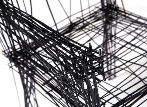Muebles aparentan ser un boceto de dibujo pero en 3d - Muebles diseno industrial ...