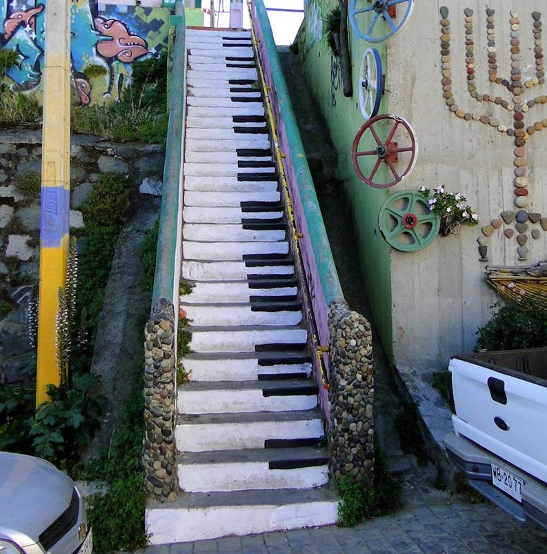 15 bellos dise os de escaleras repartidos por todo el for Diseno de escaleras