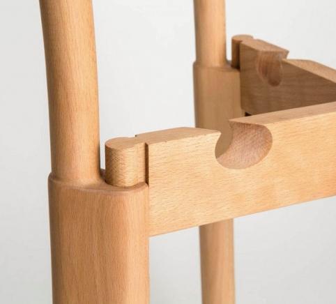 La silla que se puede armar sin pegamento clavos o for Tornillos para muebles