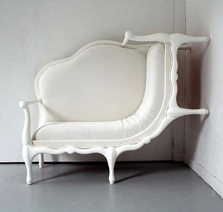 Deformes y surrealistas muebles del siglo XVIII que causan dolor de ...