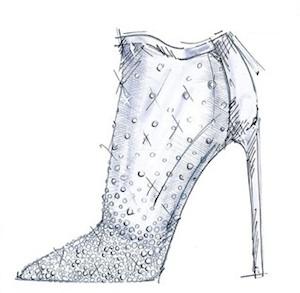 9 diseñadores crean su propia versión de la zapatilla de cristal de ... 6950e03e4b7b