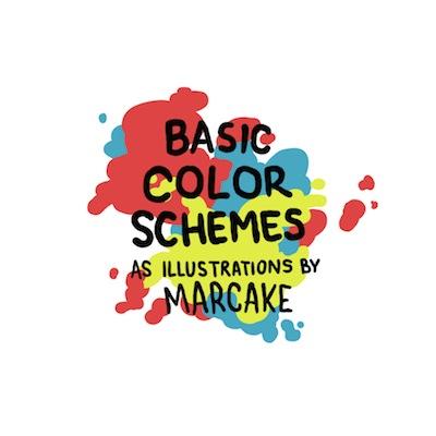 Adorables ilustraciones que te enseñan la teoría del color