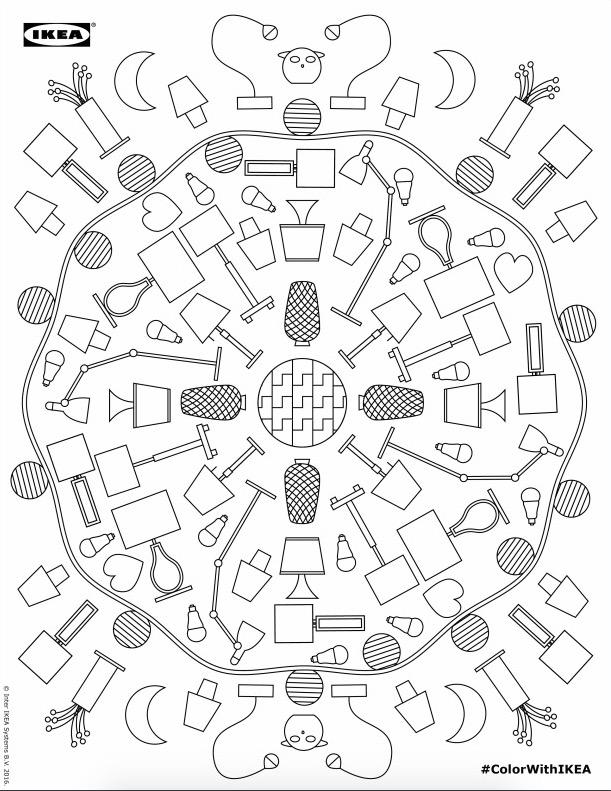 Ikea Te Pone A Colorear Esta Pequeña Edición De Desacarga