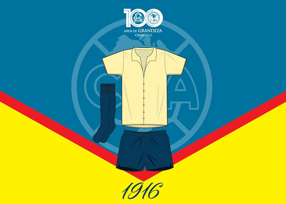 975897d64d3 El Club de Futbol América de la Ciudad de México cumple sus primeros cien  años este 2016 y los vive con la posibilidad de obtener el campeonato de la  liga ...