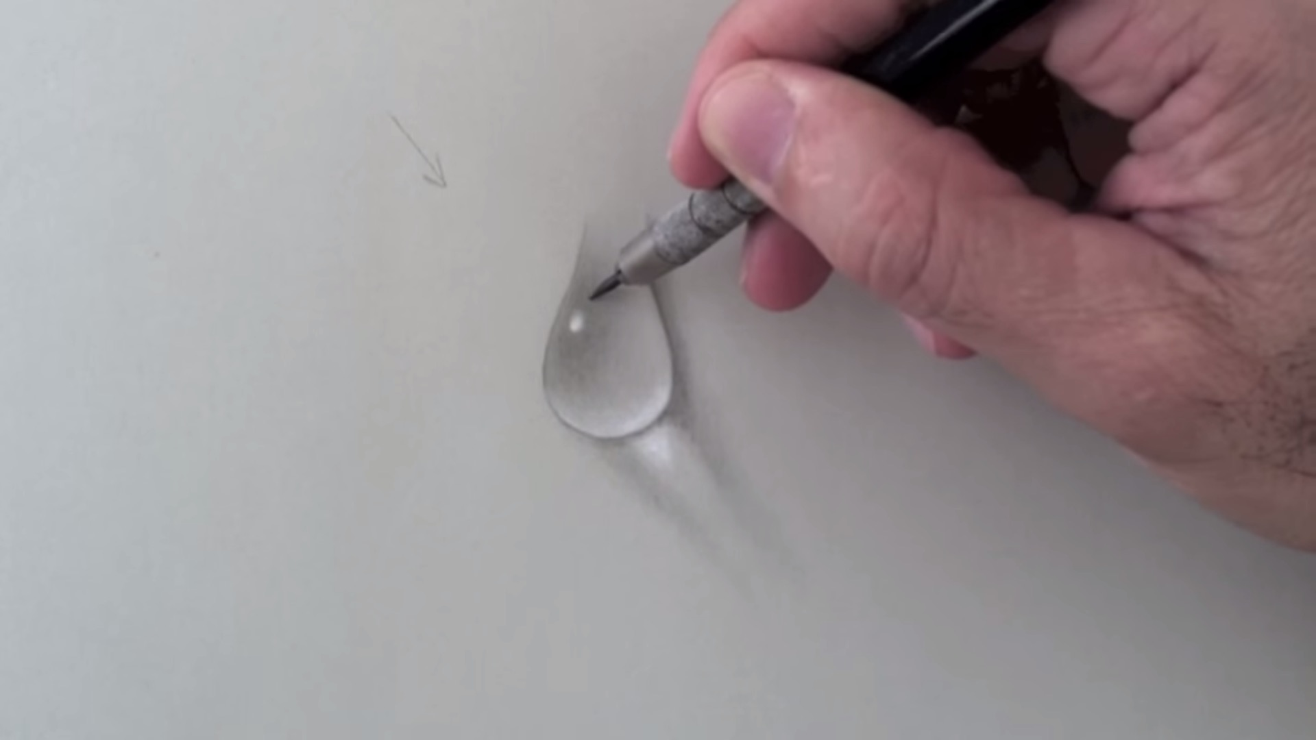 realistic drawing water dripping