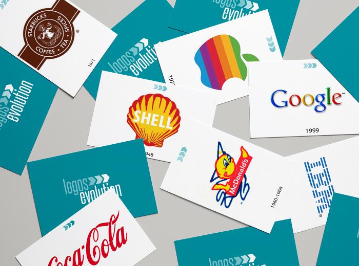 Evolución de marcas a través del diseño impreso