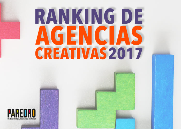 Ranking de agencias creativas 2017