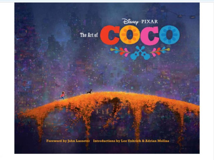 Libro del dia: The Art of Coco, by Pixar | paredro.com