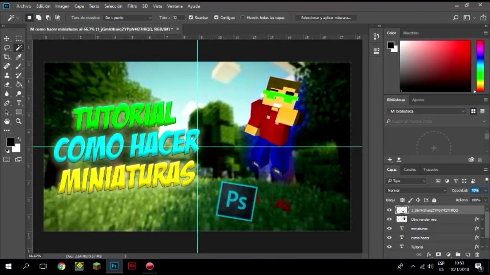 Tutorial Para Elaborar Miniaturas Con Adobe Photoshop