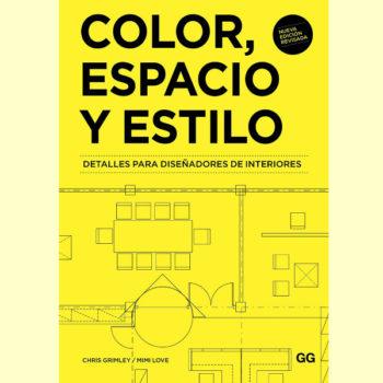 El libroColor, Espacio y Estilo destaca las dimensiones de espacio y el estilo como los elementos protagónicos de la creatividad visual.
