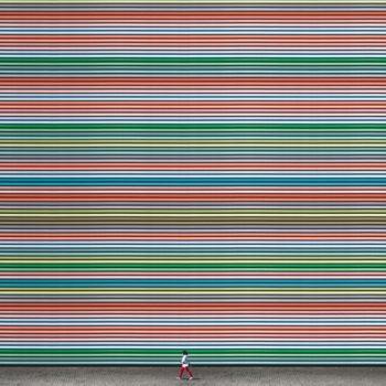 Estas imágenes te muestran que la repetición, aunada a una efectiva selección de color, puede ser un aspecto importante del minimalismo y el diseño.