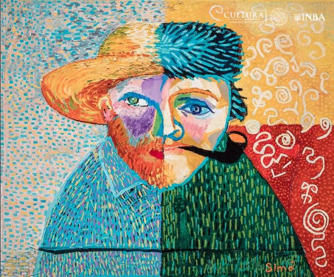 """Artistas con síndrome de Down exponen """"Manantial de Amor"""", 20 óleos y 16 grabados forman parte de la exhibición en el Palacio de Bellas Artes."""