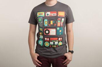 El estilo retro moderno reutiliza los diseños de las décadas de los 70's, 80's, 90's como inspiración para crear una nostalgia a la época