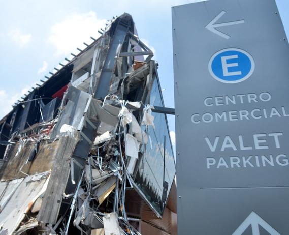 La UNAM, Wiss Janney & Elstner (WJE) y Stark + Ortiz S.C. corroboran que el derrumbe de Arte Pedregal se ocasionó por un error en el cálculo estructural.
