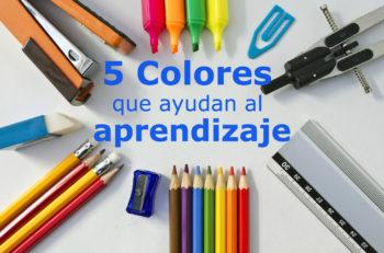 Aunque no lo creas hay colores que ayudan al aprendizaje ¿Sabes cuáles utilizar para crear concentración? ¿O cuáles debes evitar para no sobrestimularlos?