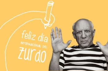 El 13 de agosto se celebra el Día Internacional de los Zurdos. Se cree que al usar la mano izquierda y el hemisferio derecho se desarrolla la creatividad.
