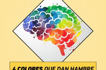 ¿Los haz visto en tus platillos o restaurante? Dentro de la teoría del color existen colores que dan hambre y que puedes aprovechar en tus diseños.