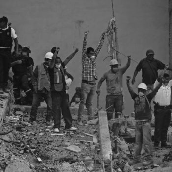 El sismo del 19 de septiembre del 2017 sacudió a México, pero éste se levantó para ayudar. 19 S El Día que nos Reencontramos, la exposición fotográfica.