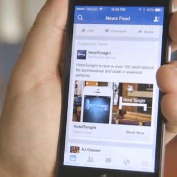 Entre los rediseños que hizo Facebook a la plataforma móvil está el nuevo acceso directo a tu perfil. Reservaciones directas desde la app.
