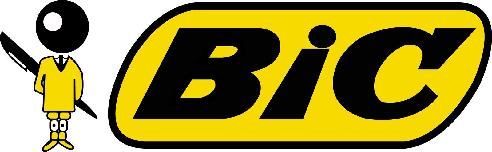 El niño de Bolígrafos Bic representa a un pequeño en edad escolar, fue creado así para atraer clientes, pero fue tan exitoso que forma parte del logo.