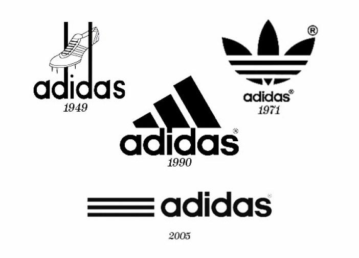 El fundador de Adidas quiso agregar algo representativo a sus tenis y colocó un trío de barras que atraviesan los costados de éstos. De ahí surge el logo.