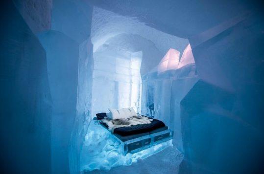 ¿Te hospedarías en alguno de los hoteles más raros del mundo? Desde los de hielo, en cuevas, pintados por artistas hasta una prisión.