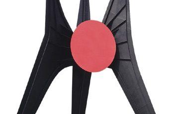 """La escultura """"El Sol Rojo"""" de Alexander Calder fue parte de la Ruta de la Amistad en las olimpiadas de México 68, se ubica en el Estadio Azteca."""