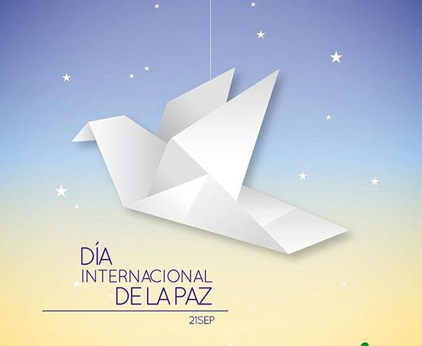 La Organización de las Naciones Unidas designó el 21 de septiembre de cada año como el Día Internacional de la Paz, checa algunos diseños de pósters.