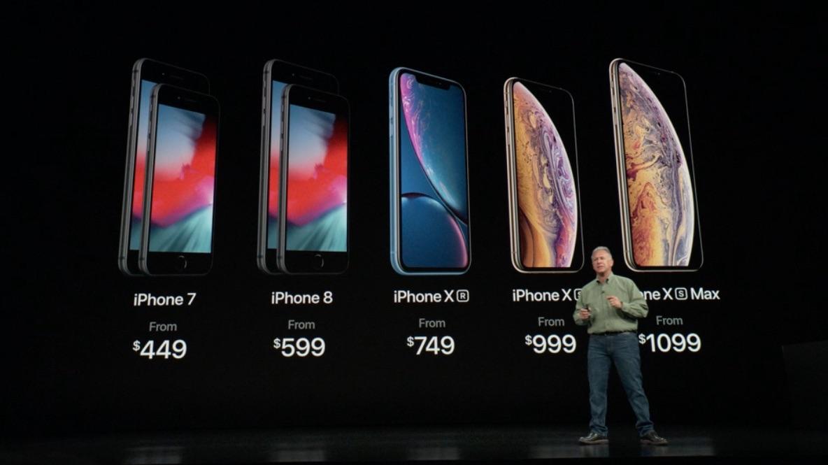 En el Apple Event 2018 presentaron el diseño del nuevo iPhone XS, iPhone XS Max y iPhone XR, así como el Apple Watch Serie 4