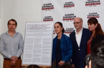 Sheinbaum lanzó convocatoria para diseñar el nuevo logotipo de la CDMX. El ganador obtendrá 150,000 pesos y un reconocimiento.