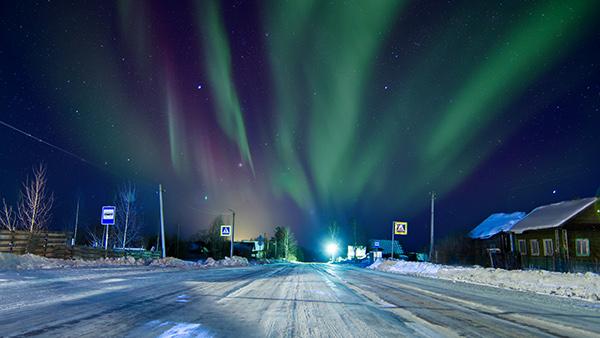 #FotoDelDía: Aurora in Russia by Vladimir Samsonik