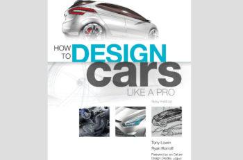 Con entrevistas a diseñadores de automóviles de Ford, BMW, GM Jaguar, Nissan y otros el libroHow to Design Cars Like a Pro muestra otro mundo industrial.