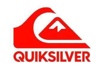 """El logotipo de Quiksilver está basado en la obra """"La Gran Ola de Kanagawa"""", que representa el surf en las olas, y el snowboard en el monte Fuji."""
