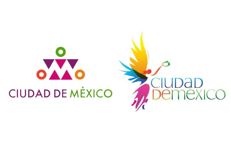 Existen 11 logos de la CDMX creados de acuerdo a la identidad gráfica del momento, próximamente se cambiará el rosa mexicano que conocemos.