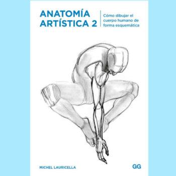 ¿Cómo dibujar el cuerpo humano de manera sencilla y guiada? Michel Lauricella complementa con este segundo volumen la Anatomía Artística.