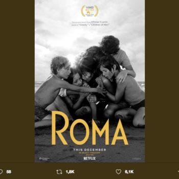 La película ROMA es la nueva producción del director mexicano Alfonso Cuarón, recientemente se reveló el póster oficial de la cinta.