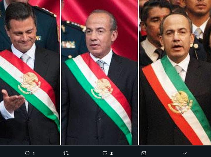 La Banda Presidencial mantenía una disposición de sus colores distinta a la que se tiene actualmente, diputados piden respetar el orden original.