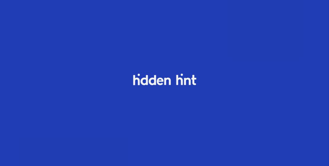 Hidden Hint dejó una pista oculta dentro de su logotipo, de una manera muy ingeniosa y atractiva, la publicidad fue realizada por ONCE.