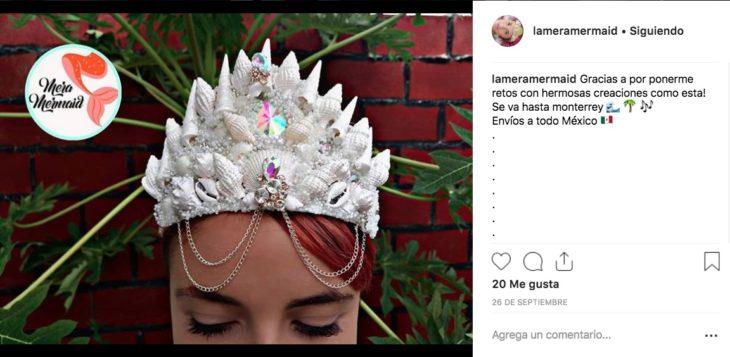 Coronas de Sirena hechas con conchitas de mar | Diseño mexicano