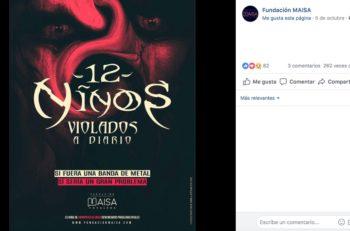 La Fundación MAISA creó una campaña con carteles de bandas de metal en las que se muestran cifras de violencia reales en Bogotá.