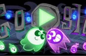 Este año, Google lanzó un Doodle de Halloween que además de minijuego, es multijugador, por lo que podrás competir con tus compañeros.