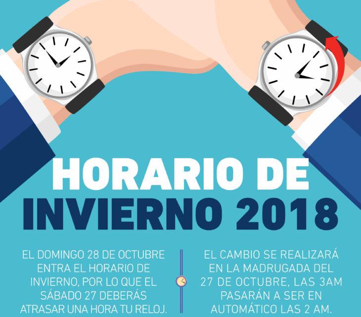 ¿Sabes cuándo y por qué se hace el cambio de horario de invierno 2018 México? Además de ahorrar energía tiene otro objetivo.