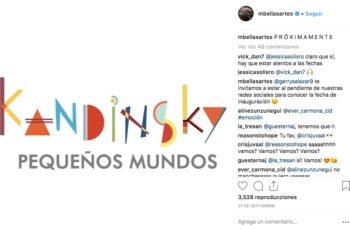 Las obras abstractas de Kandinsky están llenas de explosión, sentimientos y mundos enteros representados con puntos y líneas de colores.