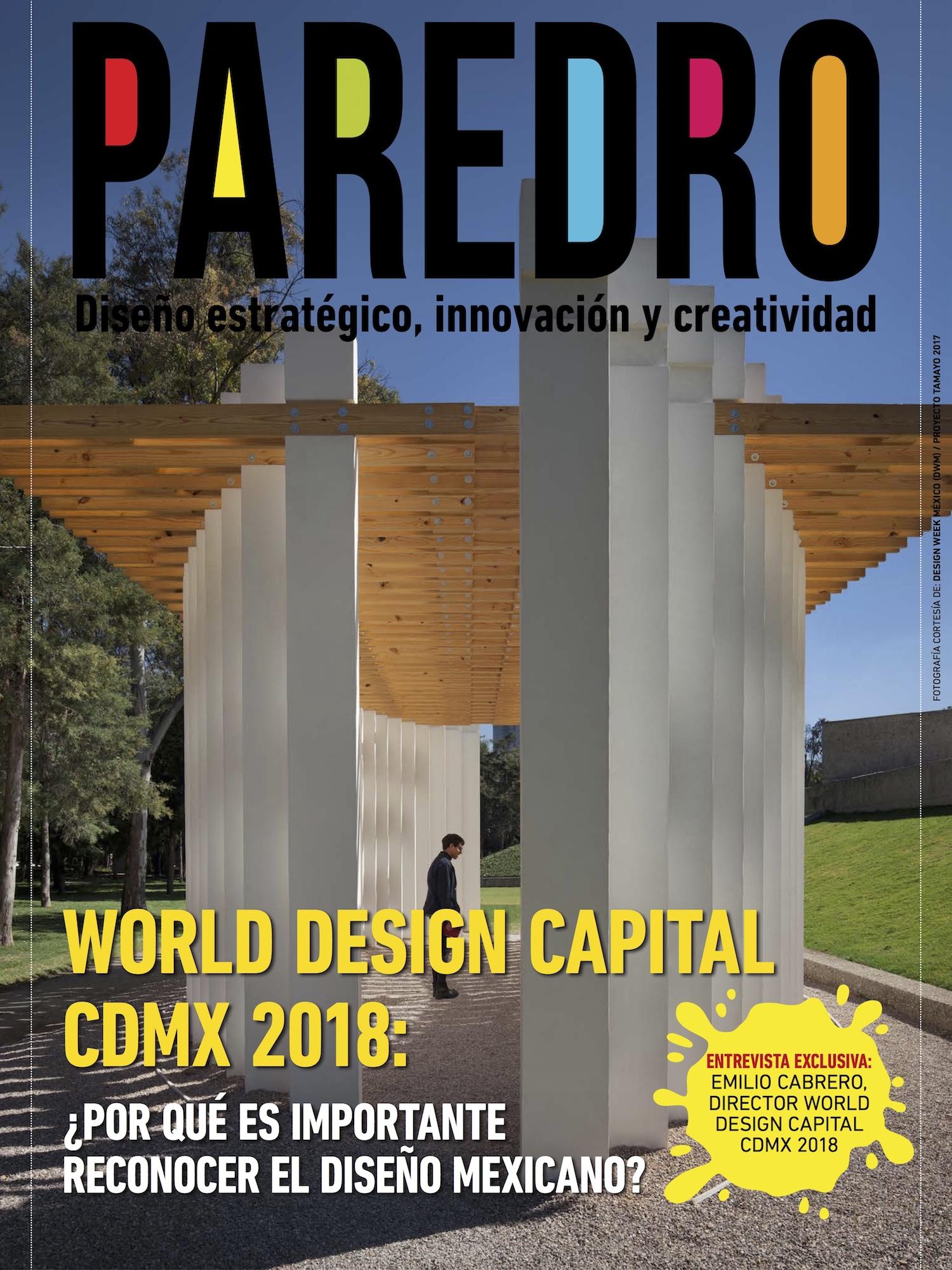 La World Design Capital CDMX 2018 cierra con la Design Week México, Emilio Cabrero nos cuenta en entrevista, lo que significa esta designación para el país.