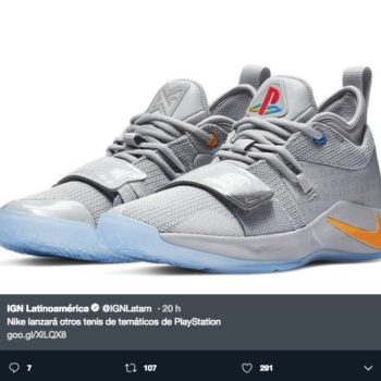 Se rumora el lanzamiento de los nuevo Nike PlayStation PG2.5 para finales de este año, el diseño es clásico pero rinde homenaje a las primeras consolas.