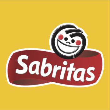 El logo de Sabritas fue creado en 1944 como una representación de la reacción que tiene la gente cuando come las papitas.