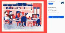 ¿Cómo es la vida de un diseñador gráfico? estas ilustraciones demuestran que se tiene una idea diferente a lo que la gente cree.
