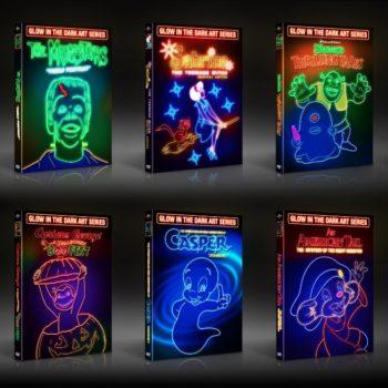 El empaque especial de los DVD Glow in the Dark Art Packaging Series ganó el Clio de Plata 2018 premios que reconocen la mejor publicidad.