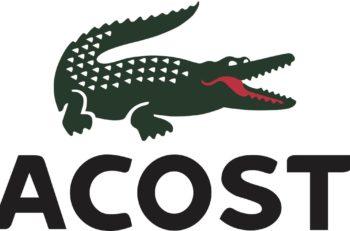 El logo de Lacoste hace referencia al apodo con el que conocían a su fundador René Lacoste, quién lo obtuvo durante un torneo de tenis.
