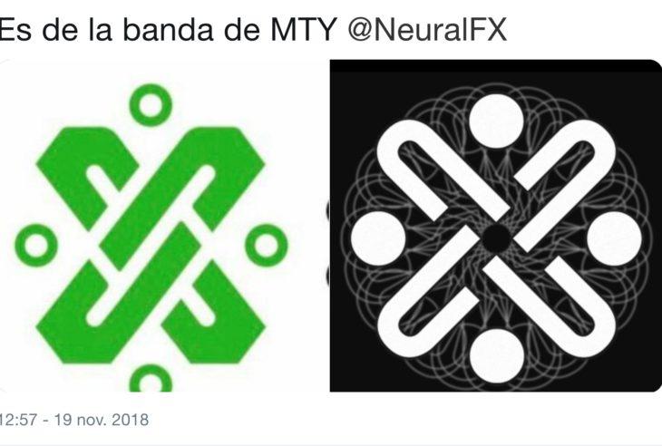 El IMPI y Claudia Sheinbaum revizarán el logo de la CDMX para corroborar que no exista plagio del símbolo de la banda regia Neural FX.